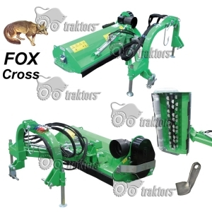 Цеповая косилка на штанге Peruzzo FOX Cross